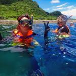 母雞岩浮潛
