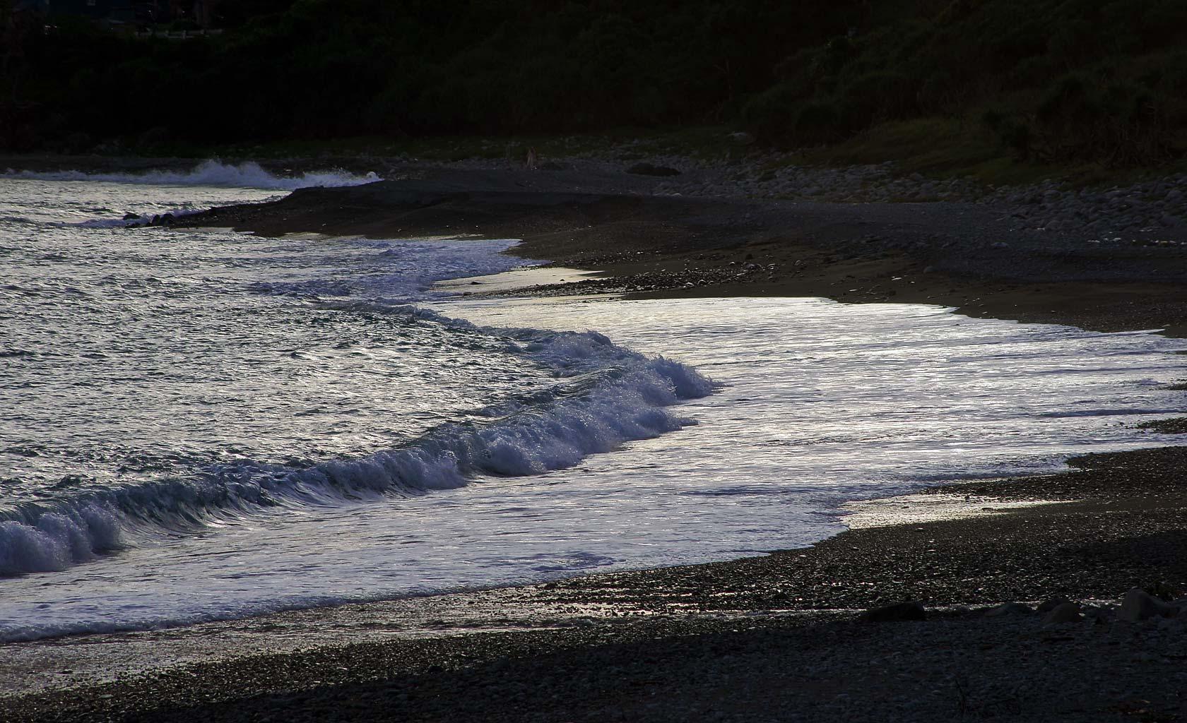 蘭嶼東清灣沙灘